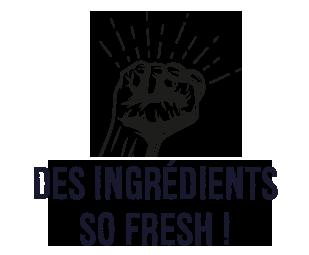 ingrédients so fresh