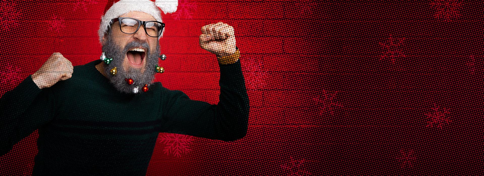 Fond Burger de Noël - Le hohoho