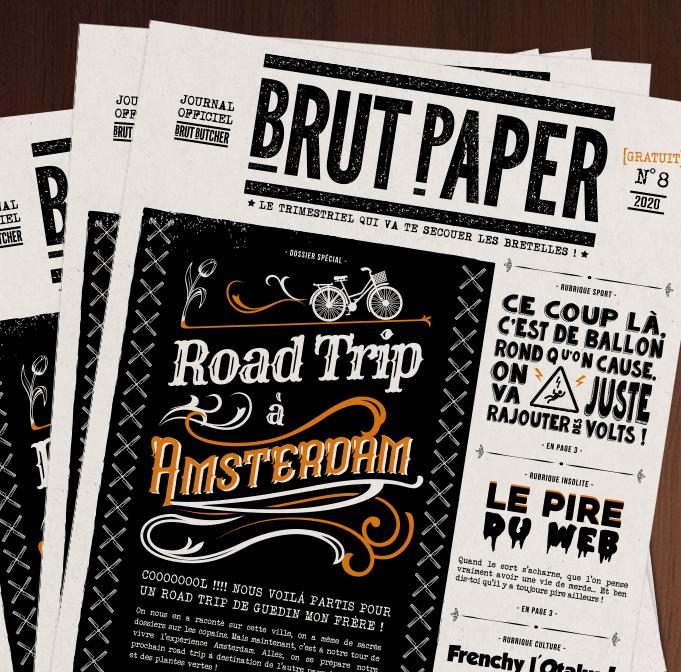 Brut Paper n°8